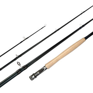 Newbility 24T Carbon 4 Bagian Fly Rod Spey Kosong Case Memancing Rod
