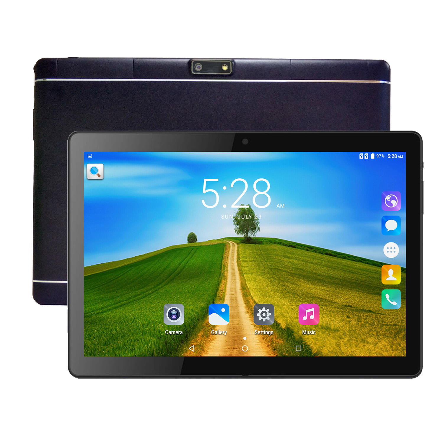 Unlock 3G 4G 10 Inch Tablet Smart Touch Screen 1280*800IPS Android Tablet Pc With 32GB ROM