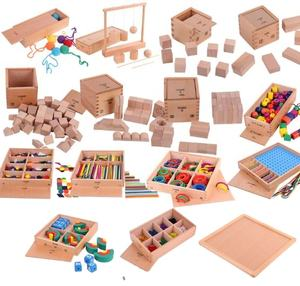 wooden Montessori Materials 15 in 1games wooden puzzle educational Toys