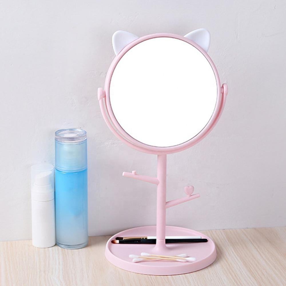 Hot Selling Low Price Beauty Fancy Cosmetic Table Makeup Mirror