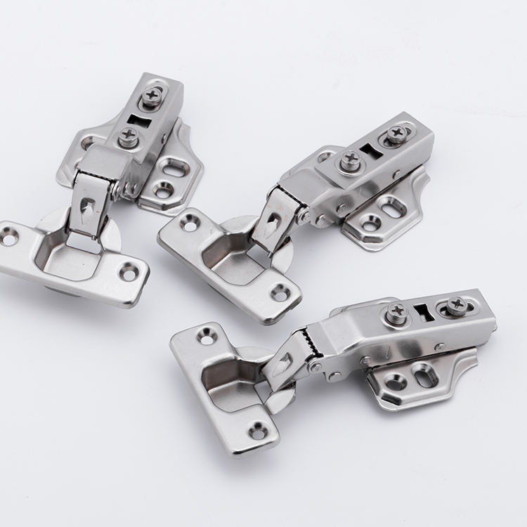GUIDE Three Sizes Hinge Iron Drawer Cabinet Furniture Hydraulic Hinges Buffering Soft Close Hinges For Furniture Hardware