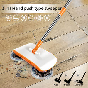 Masthome Automatic Magic Spinning PP Super Clean Broom 360 Rotating Sweeper Spinning Highly efficient magic broom