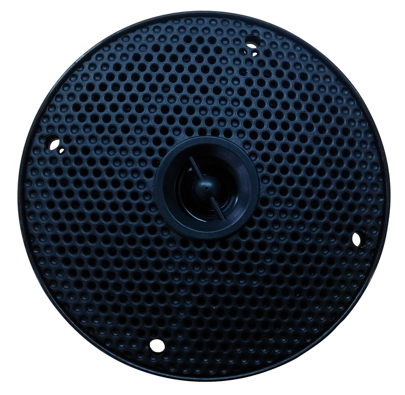 2-way 4inch IP66 Waterproof and Weather Resistant Outdoor Audio Dual Stereo Sound System 200 Watt Power and Low Profile Design
