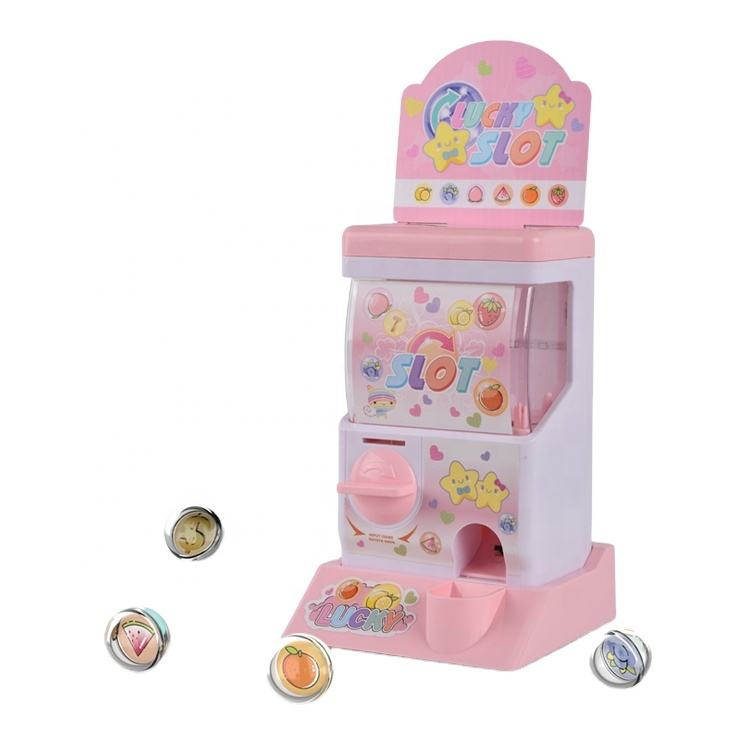 Intelligence Toy Automatic electronic Egg Lucky Slot Machine Fruit Bingo Set Game For Children