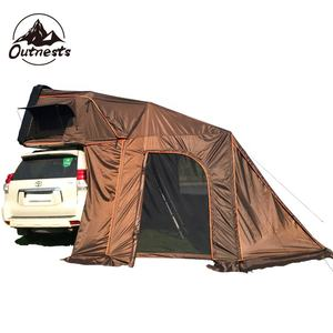 Por terra 4wd Mini ultra-leve casca dura Tejadilho do carro Top Tenda