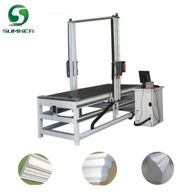 Factory Supply Vibration Hot Wire Foam Cutter Polystyrene Cutting Machine 2d shape styrofoam carving
