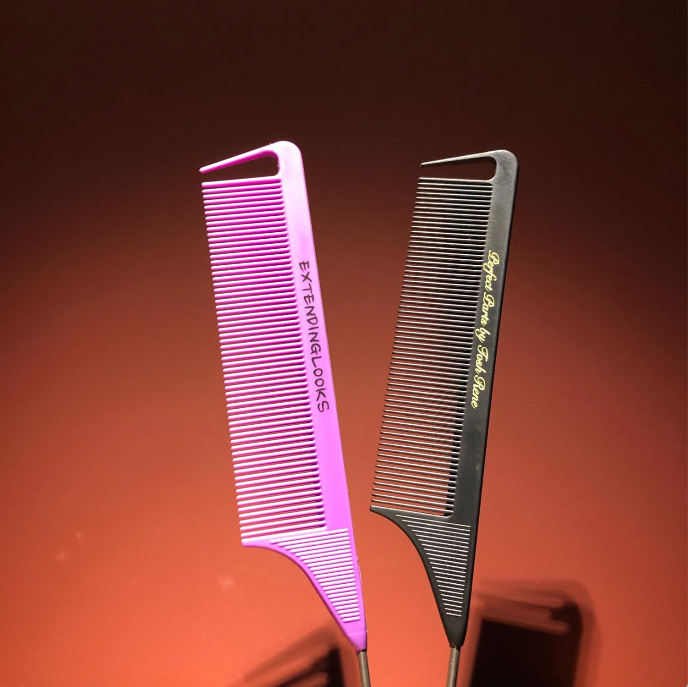 Ordinary Her Braids Precision Combs Custom Made Good Metal Comb