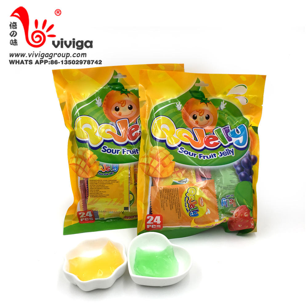 191g stick shape jelly/ pudding with peach flavour