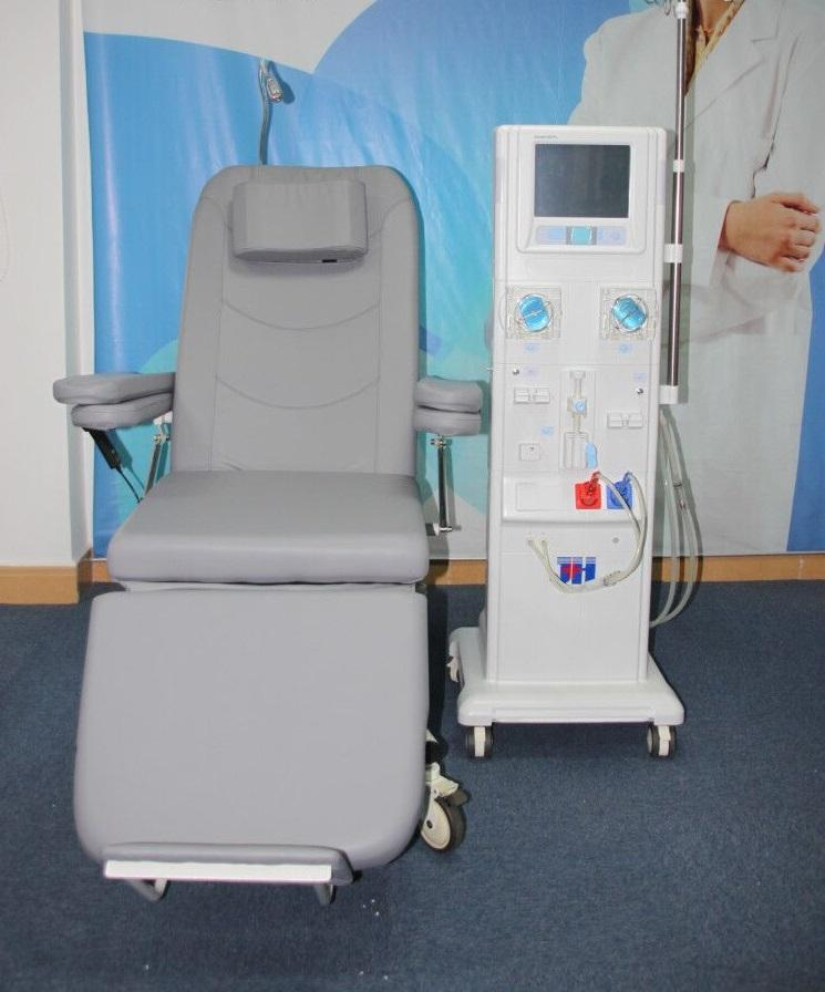 Double Pumps LCD Touch Screen Hemodialysis Machine