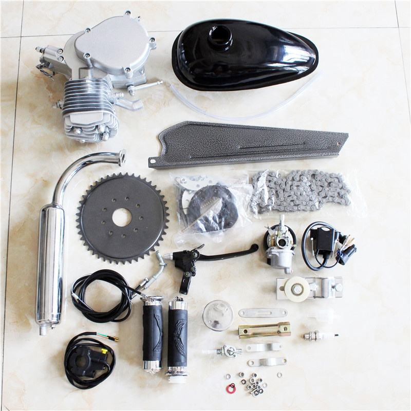 80cc 2-Stroke <span class=keywords><strong>자전거</strong></span> Gasoline Engine Motor Kit DIY 동력 Bike 부