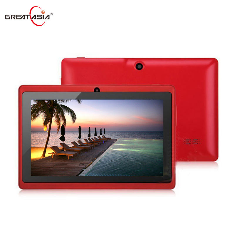 Bulk großhandel android tablet 7 zoll allwinner a33 Quad-Core-Tablet android q88