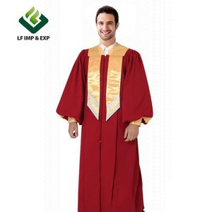 Wholesale luxury Choir robe church costumes& choir gowns