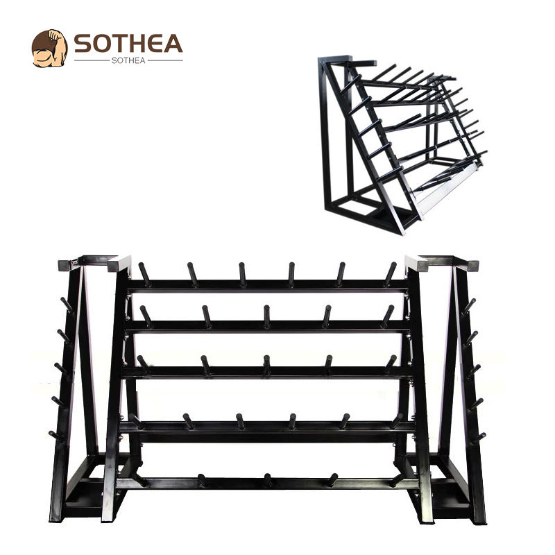 Palestra Per Il Fitness Crossfit Bar Rack Di Stoccaggio Rack di Supporto Per Il Fitness Bilanciere