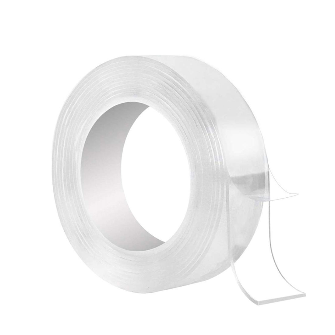 EONBON Transparent Double Sided Washable Sorcery Nano Adhesive Tape