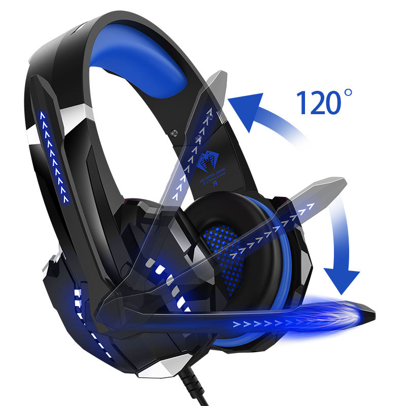 Amazon Best Seller G9000 Stereo Gaming Headset Rgb Computer Gaming Headphones Support Custom Oem