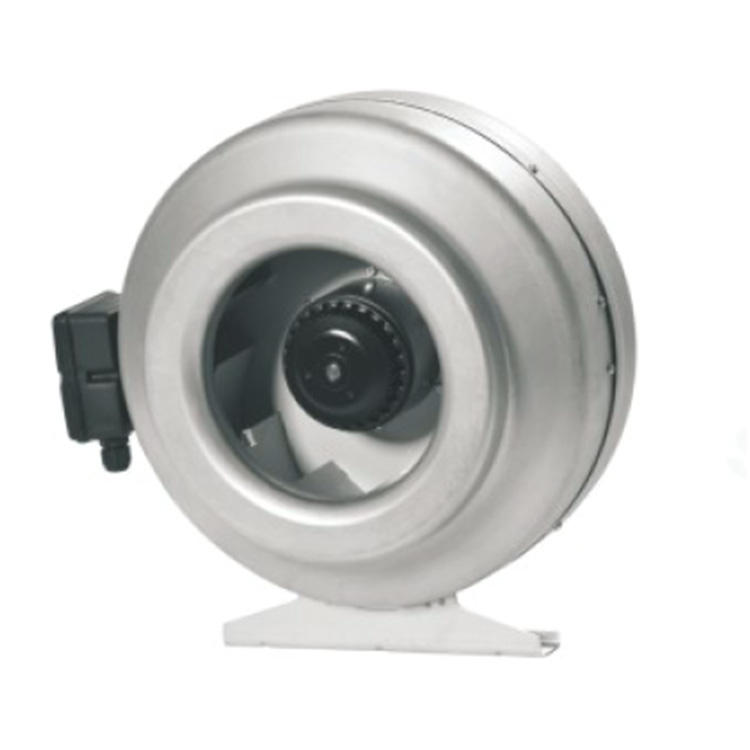 """Hydroponics Metal Circular Inline Duct Extractor Fan Air Control 12/"""" 315mm"""