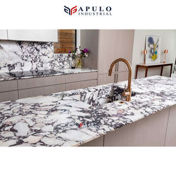 Factory direct purple marble countertop