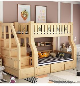 Kids school furniture sets children furniture bunk bed bunk bed with desk and wardrobe