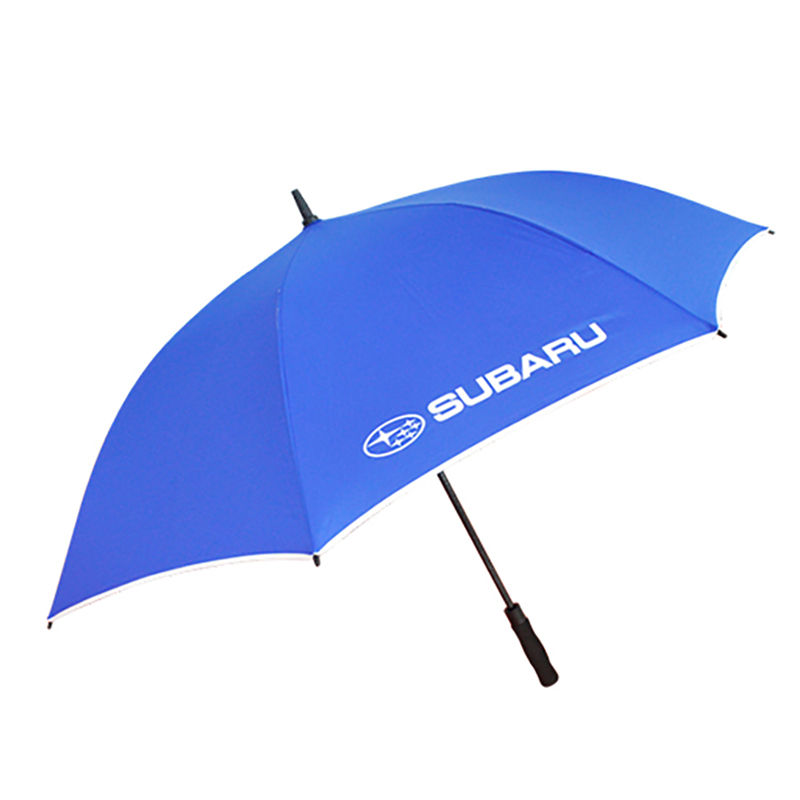 Windproof Auto Open Large Size 30inch Custom Brand Name Promotional umbrella with Logo Print