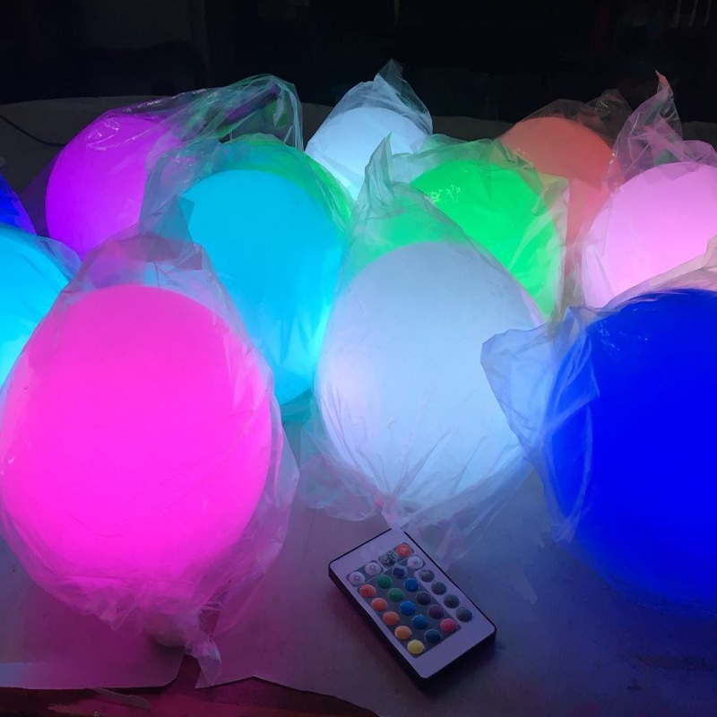 Remote control RGB waterproof led ceiling ball led hanging ball led sphere light balls for home decoration