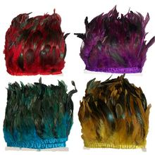 Best price natural color cock neck hackle feather