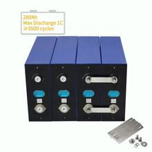 Free Shipping to USA 16pcs/pack LF280 280Ah EVE 3.2V Lifepo4 Solar Batteries Cells DIY 48V Battery Packs