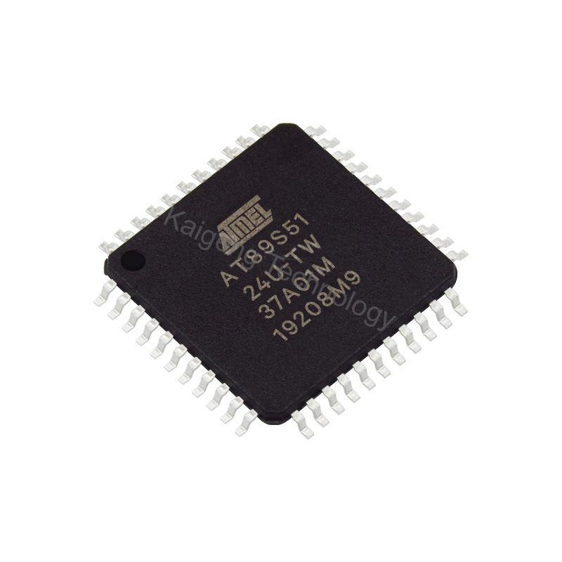 AT89S51-24-Una encapsulación QFP44 MCU microcontrolador casa muebles de lugar AT89S51-24