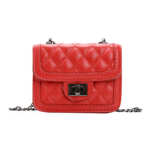 Nieuwe collectie leuke multi kleuren mini schouder sling bag PU leather kids crossbody bag