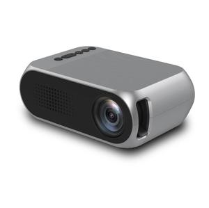 YG320 Mini pocket projector HD 1080P TV Movie Video Home Theater LED projector support OEM Logo