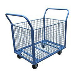 Wholesale powder coating steel structure customized transport hand carts & trolleys