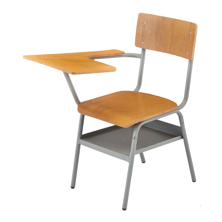Metal [ Chair ] Chair School School Chair With Writing Pad