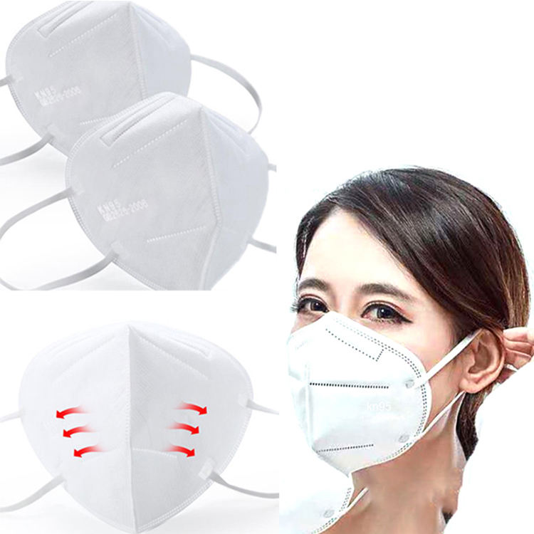 Low price Wholesale Stock 5 layers kn95 Face Mask Disposable ffp2 Surgical Medical Mask ffp3