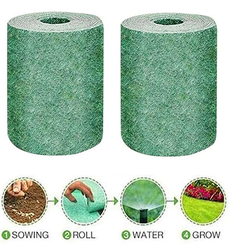 Wholesale 10M Biodegradable Grass Seed Mat Fertilizer For Lawns Dog Patches And Sun Shade Just