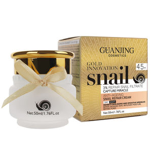 GuanJing Organic Face Cream Whitening And Moisturizing Snail Repair Face Beauty Cream