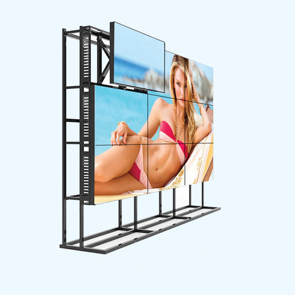Hot Sell Cheap price 49 inch indoor meeting seamless 3x3 lcd video wall player