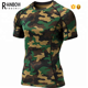 Mens Cool Compression Sublimation Printing Gym Sports T Shirts
