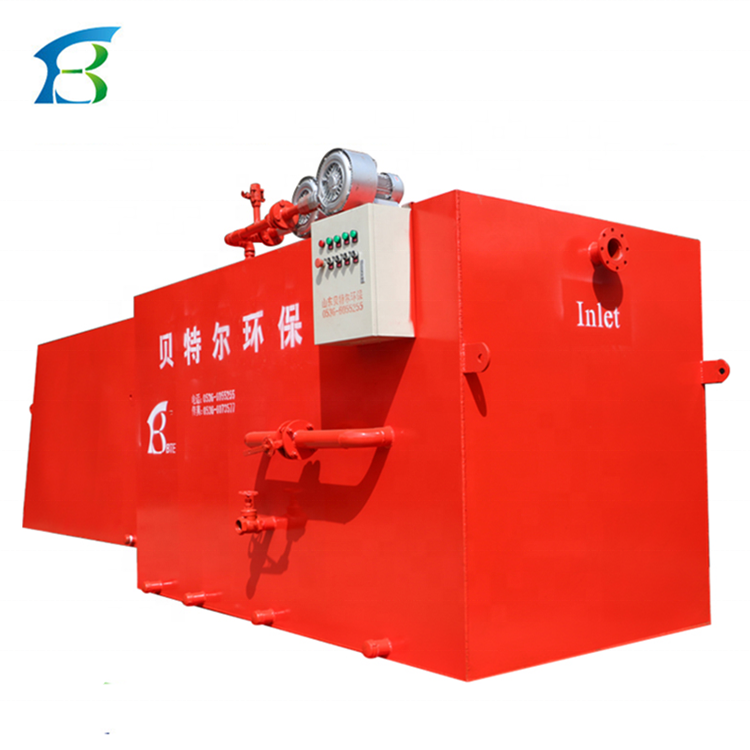 Car Wash Water Recycling System For Sewage Treatment