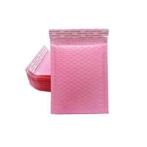 6x9 6x10 Pink Poly Bubble Mailers Popular Design Water-proof Strong Adhesive Bubble Envelope