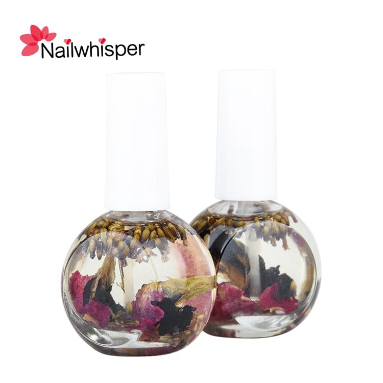 Private Label Nail Care Eco-friendly Harmless Manicure Dry Flower Nutrition Cuticle Revitalizer Oil 12ML 15ML