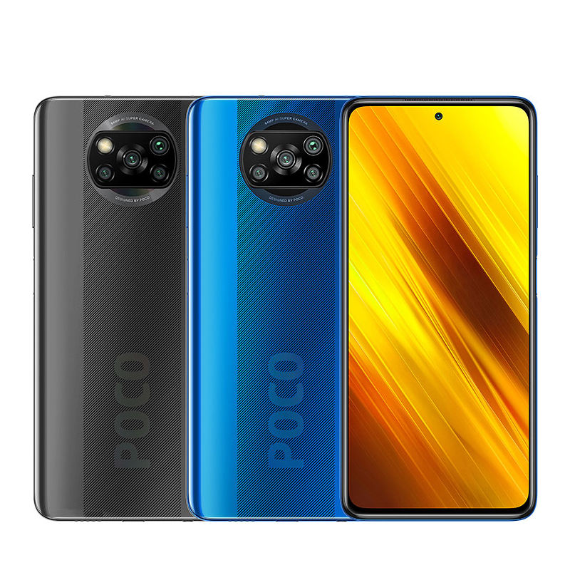 Global Version Xiaomi POCO X3 6GB 128GB NFC Snapdragon 732G Xiaomi Smartphone 64MP Camera 33W Charge mobile phones