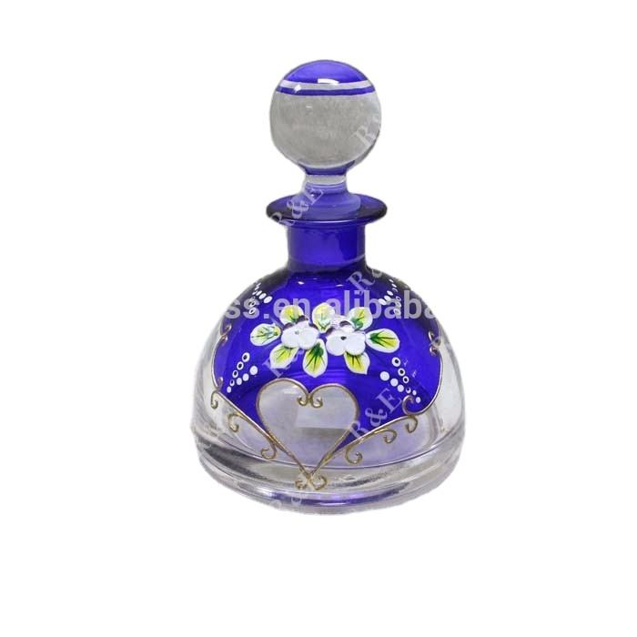 150ml handmade fancy flower enamel decorative perfume bottle