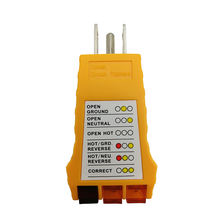 USA electrical socket circuit receptacle outlet tester
