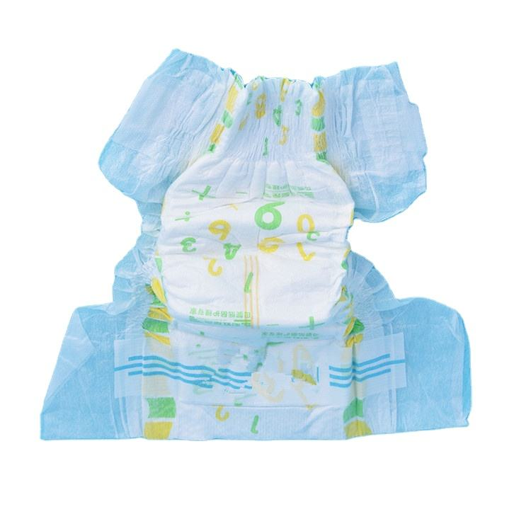 disposable magic tape elastic waist band baby diapers