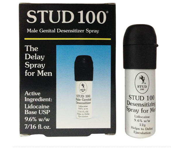 Stud 100 man power sex spray and drop to delay the time sex product
