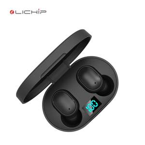 LICHIP L448s cuffie wireless doppie per tv auricolare wifi earphone e6s a6s m1 charging earbuds with power bank for mobile