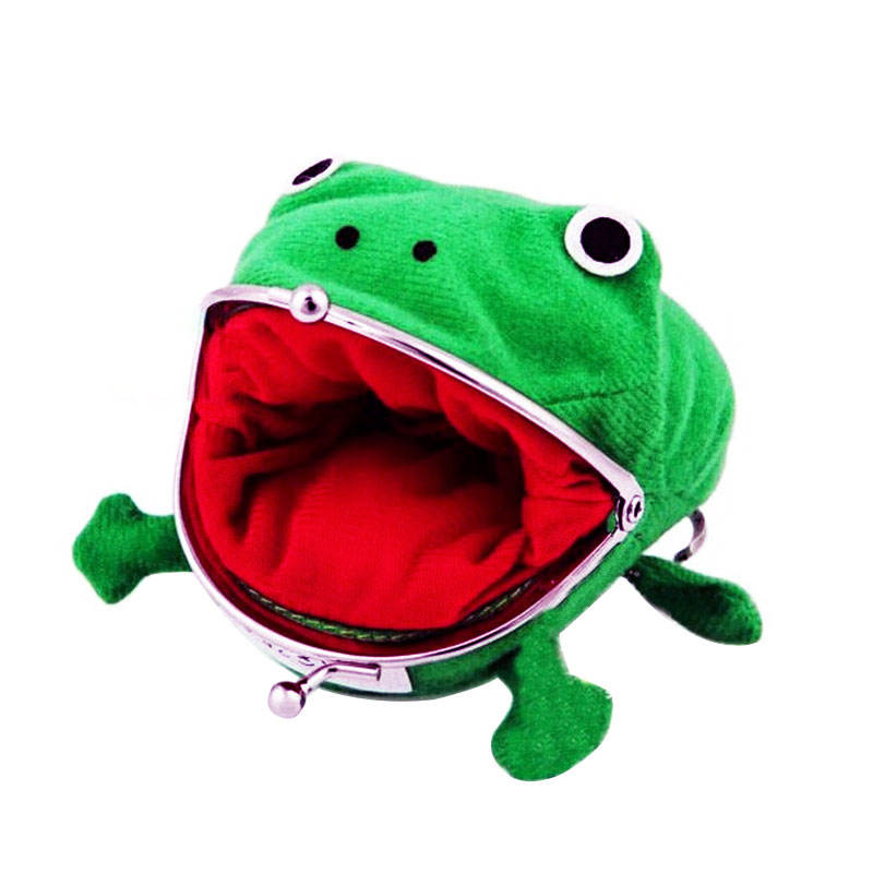 Hot Anime Naruto Frog Coin Purse Headphone Storage Bag