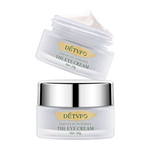 Korean organic private label stem cell lift eye creams anti aging wrinkle snail removal best under dark circle eye cream