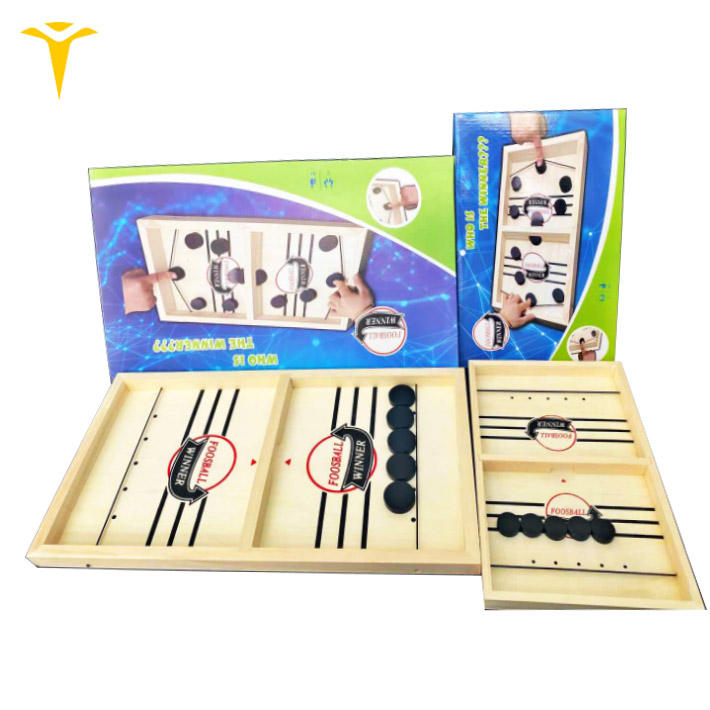 An yang feeker interactive game table hockey toy intelligence wooden board game for kids or adults