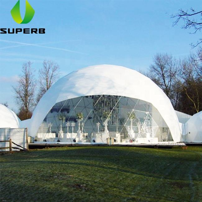 Geo dome round tent house 8m diameter geodesic domes for sale