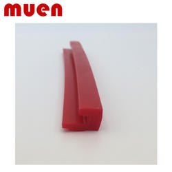 High temperature resistant silicone rubber seal/extruded silicone rubber seal/high temperature flame retardant silicone rubber s